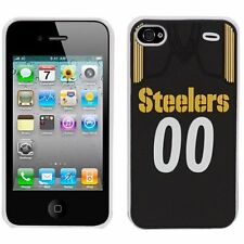 Pittsburgh Steelers IPHONE 4/4S Jersey Hard Case/Cover with Silicone 3D Back