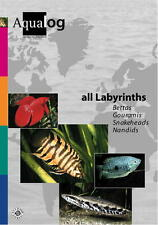 AQUALOG, All Labyrinths & Anabantoids, by F. Schaefer