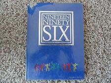 1996 Lyal W. Burkholder Middle School Yearbook from Henderson Nevada