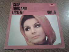 33 tours helmut zacharias and his concert orchestra stop look and listen vol. 6