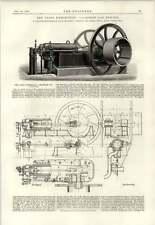 1890 100 CAVALLI MOTORE A GAS MALANDRIN Powell regola Torpediniera CUSHING