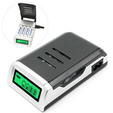 4slots inteligente cargador pilas para AAA NiCd baterías recargables de NiMh ES