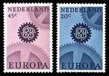 NVPH 882-883 POSTFRIS EUROPA CEPT CAT.WRD. 1,70 EURO