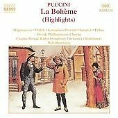 Puccini - La Boheme Highlights (Naxos cd album) Orgonasova, Welch, Gonzales  VG