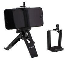 Travel Pocket Selfie Tripod Tablet Holder + Large Mobile Smart Cell Phone Mount