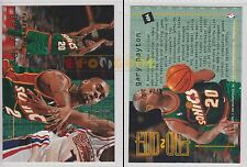 NBA FLEER 1995-1996 SERIES 2 - Gary Payton, Sonics # 484 - Mint