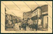 Catania Nicolosi Etneo cartolina QK4834