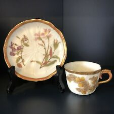 Collectable Royal Worcester Blush Ivory Cup And Saucer #1