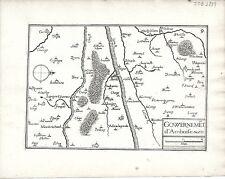 Antique maps, Gouvernement d'Amboise