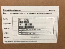 NEW / NOB HITACHI HNAS 3090 G2 SX345321 SX315033-03 NAS SERVER 2x 500GB 7.2K HDD