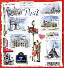 Feuillet F4515 - Capitales européennes - Paris - 2010