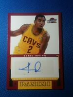 Kyrie Irving 2012-13 Panini Signatures Autograph Auto RC