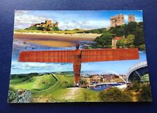 POSTCARD: THE NORTH EAST: MULTI SCENE: USED: POSTED: POST DATE ON CARD IS 2014