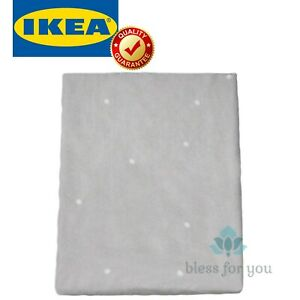 """IKEA VADRA Cover for Changing Pad Dotted Gray 18 7/8x29 1/8 """""""