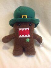 "2011 Domo Kun Japan St. Patrick's Day Irish Leprechaun Plush w Tag 12"" VHTF"