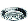 """Individual Foil Pie Plates 7¾"""" Dishes Cases Round Tin Container Diposable Lanced"""