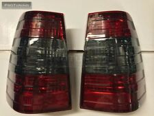 W124 S124 W124T Wagon Mercedes Benz 5D RED SMOKE REAR TAIL BACK LIGHTS LIGHT