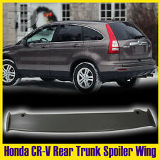 Unpainted For Honda CR-V 3rd Rear Trunk Roof Spoiler Wing  Mugen Look 2011 EX LX