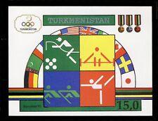 Turkmenistan 01 1992 Olympics MNH