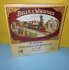 SunsOut Bells & Whistles Art of Lee Dubin 500 Pcs Train Jigsaw Puzzle