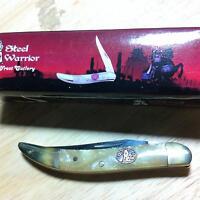 "4 1//2/"" stainless razor blade etc Misc Zombie Nick Straight Razor 7 1//2/"" closed"