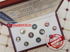 Coffret BE Grèce 1 Cent à 2 Euro + 2x2 Euro CC 2018 - Belle Epreuve