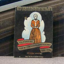 Vintage Matchbook Cover Y6 1942 Bethlehem Pennsylvania Christmas Bi Centennial