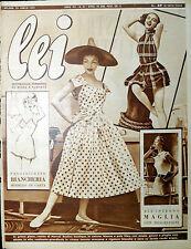 * lei N° 31/ 29/LUG/1952 * Rivista di moda *
