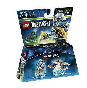 LEGO Dimensions Ninjago ~ Zane Fun Pack 71217 Brand New Sealed NinjaCopter Wii U
