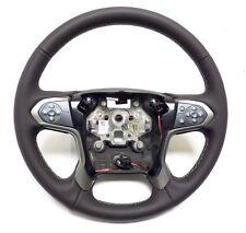 2015-2017 Silverado Suburban Steering Wheel Cocoa Lather, Gray Stitches 23278610
