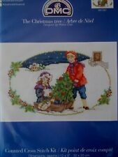"Cross stitch Kit "" The Christmas Tree"" New by DMC"