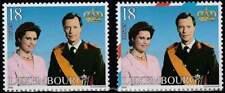 Luxemburg postfris 2000 MNH 1515 (2x) - Prins Henri en Maria Teresa