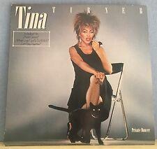 TINA TURNER Private Dancer 1984 VINYL LP + INNER EXCELLENT CONDITION D