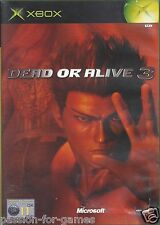DEAD OR ALIVE 3 for Xbox - with box & manual