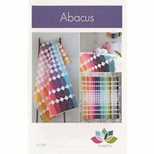 """Abacus Quilt Pattern by Vanessa Christenson Makes 60"""" x 69"""" Quilt"""