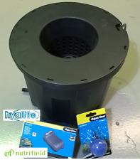 NUTRIFIELD PRO POT F1 15L DWC SYSTEM HYDROPONIC BUBBLE BUCKET DEEP WATER CULTURE