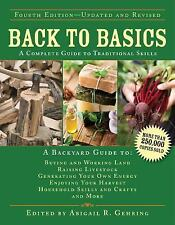 Back to Basics:A Complete Guide to Traditional Skills (4TH ed.) - BRAND NEW H/C!