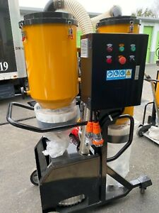 V7 HEPA Vacuum / Dust Collector for concrete floor machine- 10HP 3phase 480volt