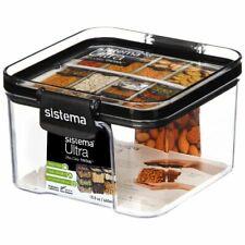 Sistema Ultra Square Tritan Plastic Container 460mL