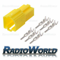 Mini ISO Female Terminal Block Socket Connector Repair Kit 6 pin
