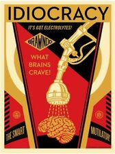 Shepard Fairey Obey Giant Royal Idiocracy Signed SOLD OUT Screen Print