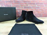Paul Smith Black Suede Boots UK 9 US 10 EU 43 Worn 3/4 times Zip - Soft kid skin