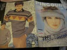 Pingouin Autumn Knitting Book #46-59 Men & Women Designs- All Shown