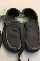 NWT Sanuk Men's SMF1047 Chiba Slip On Sidewalk Surfers Shoe Sandal Hybrid Sz 9
