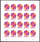 200 Hearts Blossom Love stamps 10 Sheets Of 20 Forever USPS Postage