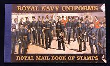 Great Britain Prestige Booklet DX47 2009 Royal Navy Uniforms