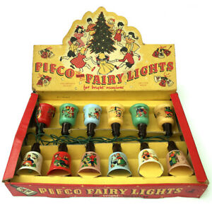 PIFCO VINTAGE CHRISTMAS TREE DECORATION LIGHTS BULBS LAMPS FAIRY NURSERY WORKING