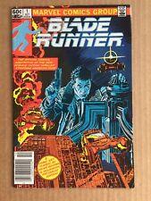 Blade Runner #1 (1982) Movie Adaption ~ Marvel Comic ~ Newsstand