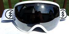 $160 Electric EG2 Mens winter snow ski White Goggles Spy Chrome Mirror uvex Lens