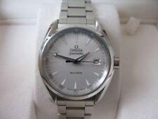 Relojes de pulsera fecha Seamaster de acero inoxidable